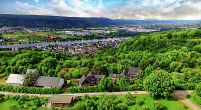 Photograph - Moselle Rhine Valley by Anthony Dezenzio