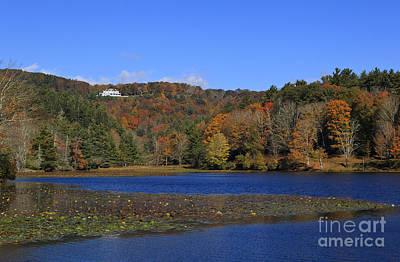 Photograph - Moses Cone Manor House And Bass Lake by Jill Lang