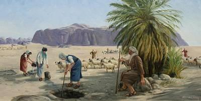 Moses In Midian Original