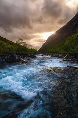 Vertical Photograph - Moskodalen by Tor-Ivar Naess