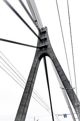 Dnieper Wall Art - Photograph - Moskovskiy Bridge Perspective, Kiev, Ukraine by Pavel Melnikov