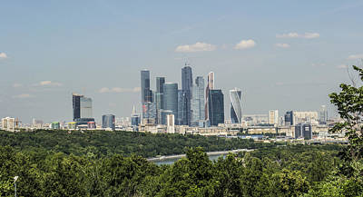 Photograph - Moskow Skyline by Atul Daimari
