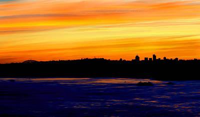 Photograph - Mosman And Harbour Bridge Skyline by Miroslava Jurcik
