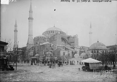 Painting - Mosque At St. Sophia by Celestial Images