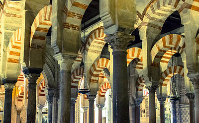 Photograph - Mosque Cathedral Of Cordoba 2 by Andrea Mazzocchetti