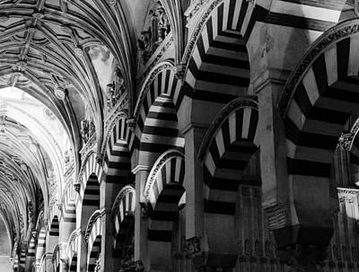 Mosque Cathedral Of Cordoba 6 Art Print by Andrea Mazzocchetti