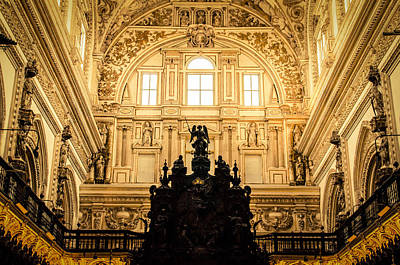 Photograph - Mosque Cathedral Of Cordoba 7 by Andrea Mazzocchetti