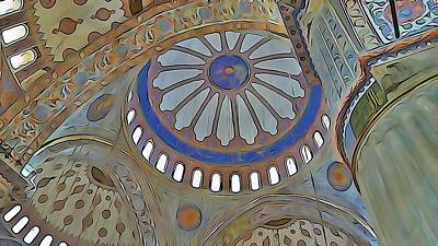 Photograph - Mosque Dome by Lisa Dunn