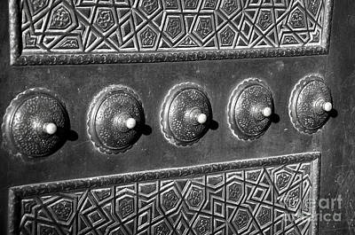 Photograph - Mosque Door by Andrew Dinh