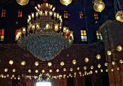 Photograph - Mosque Lighting by Debbie Oppermann