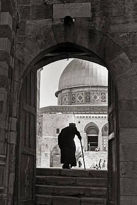 Old Man Digital Art - Mosque Of Omar by Munir Alawi