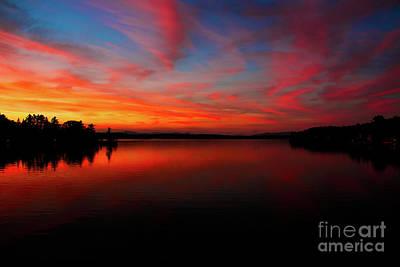 Photograph - Mosquito Bridge Sunset by Mim White