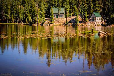 Mosquito Lake California 95223 Art Print by LeeAnn McLaneGoetz McLaneGoetzStudioLLCcom