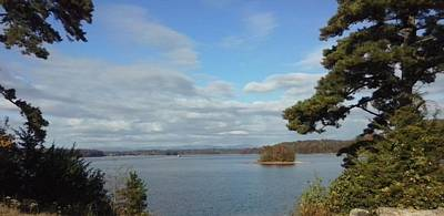 Lake Keowee Photograph - Mosquito Point by Samuel Webb