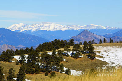 Steve Krull Royalty-Free and Rights-Managed Images - Mosquito Range Mountains by Steve Krull