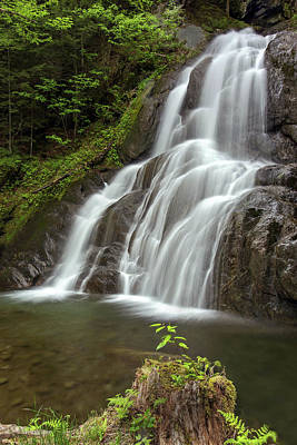 Photograph - Moss Glen Falls 2 by John Vose