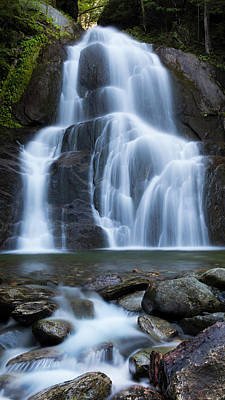 Photograph - Moss Glen Falls 3 by Alan L Graham