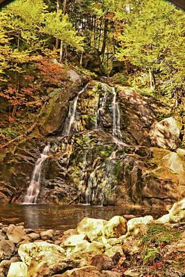 Photograph - Moss Glen Falls Granville by Allen Beatty
