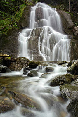 Photograph - Moss Glen Falls by John Vose