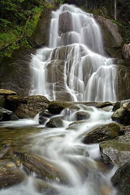 Photograph - Moss Glen Falls by John Vose