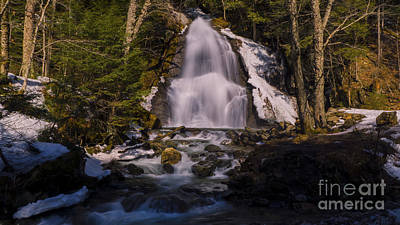 Sean Rights Managed Images - Moss Glen Falls Royalty-Free Image by Scenic Vermont Photography