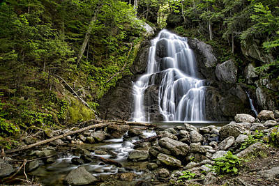 Photograph - Moss Glen Falls by Stephen Stookey