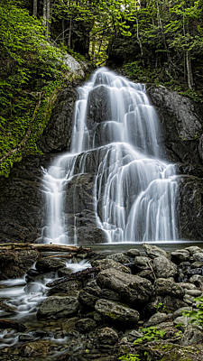 Moss Glen Falls - Vertical Art Print