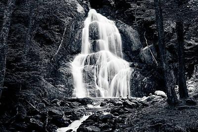 Photograph - Moss Glen Falls Vt Waterfall by Jeff Folger