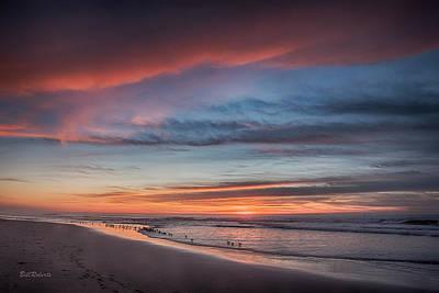 Shorebird Photograph - Moss Landing Sunset by Bill Roberts
