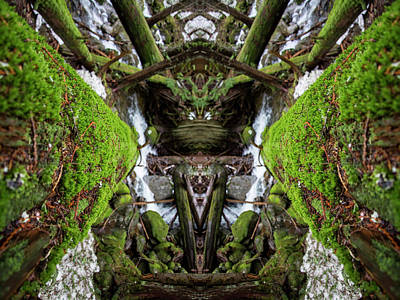 Monster Photograph - Moss Monsters by Pelo Blanco Photo
