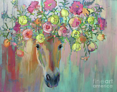 Moss Rose Art Print