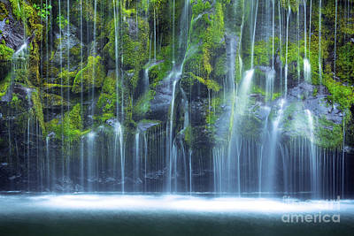 Photograph - Mossbrae Falls - 05 by Benedict Heekwan Yang
