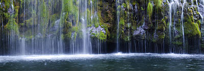 Photograph - Mossbrae Falls At The Bottom by Loree Johnson