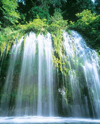 Mossbrae Falls Ca Usa Art Print by Panoramic Images