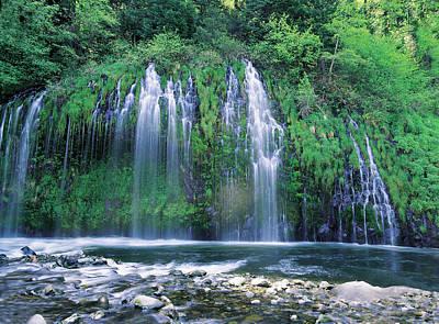 Jim Nelson Photograph - Mossbrae Falls by Jim Nelson