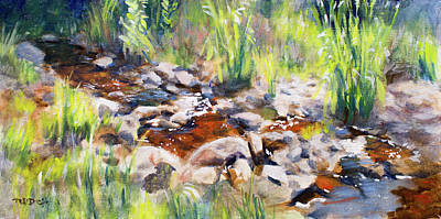 Painting - Mosselrivier Plein Air by Christopher Reid