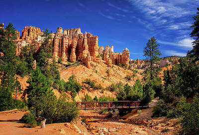 Photograph - Mossy Cave Trail At Bryce by Carolyn Derstine