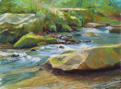 Painting - Mossy Creek by Marsha Savage