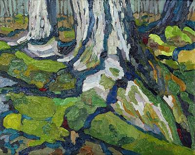 Tom Thomson Painting - Mossy Maples by Phil Chadwick
