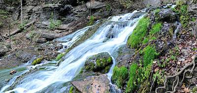 Photograph - Mossy Spring Panorama by Bonfire Photography
