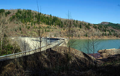 Photograph - Mossyrock Dam by Tikvah's Hope