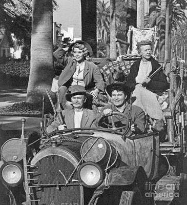 Irene Ryan Photograph - Most Famous Hillbillies by Pd