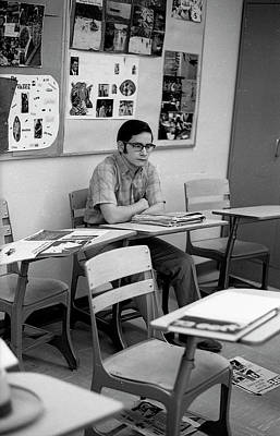 Photograph - Most Scholarly Student, 1972 by Jeremy Butler
