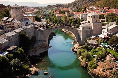 Staris Photograph - Mostar by Blaz Gvajc