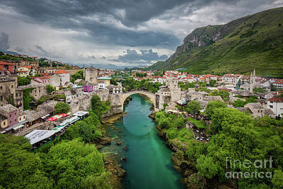 Mostar Photograph - Mostar by JR Photography
