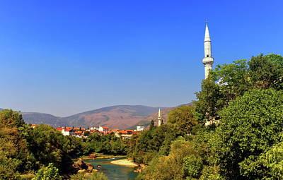 Photograph - Mostar Old City, Bosnia And Herzegovina by Elenarts - Elena Duvernay photo