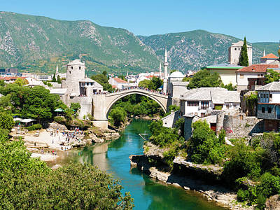 Mostar Photograph - Mostar by Rae Tucker