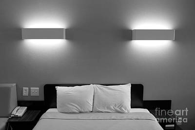 Photograph - Motel Alone Again by Jim Corwin