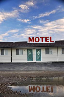 Photograph - Motel Culbertson Montana by Braden Moran