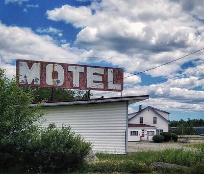 Photograph - Motel by Mary Capriole